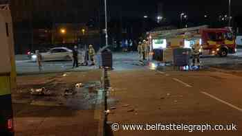North Belfast disorder: 15-year-old boy arrested after police and fire crews attacked with missiles