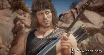 Rambo's visceral Mortal Kombat 11 Fatality revealed in trailer video     - CNET