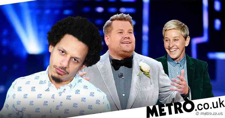 James Corden is 'screwed' if being mean gets you cancelled, says Eric Andre