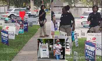 Florida deputies will be stationed at early voting sites
