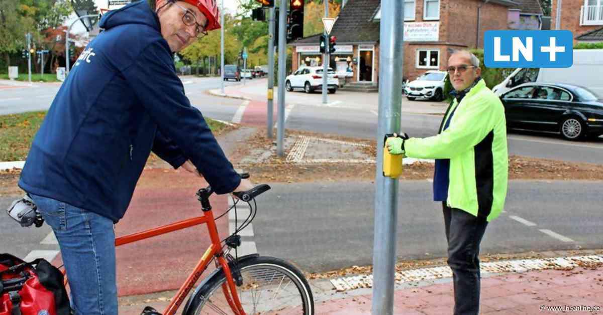 Ahrensburg: Eine Ampel auf dem Radweg - Lübecker Nachrichten