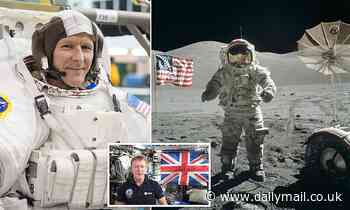 Tim Peake reveals he is 'still in the frame' for NASA's future lunar space mission
