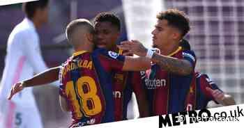 Barcelona star Ansu Fati breaks Real Madrid legend Raul's Clasico record