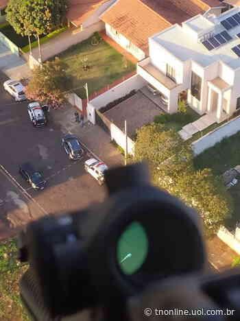 Operação da Polícia Civil em Faxinal mira o tráfico internacional de drogas; assista - TNOnline - TNOnline