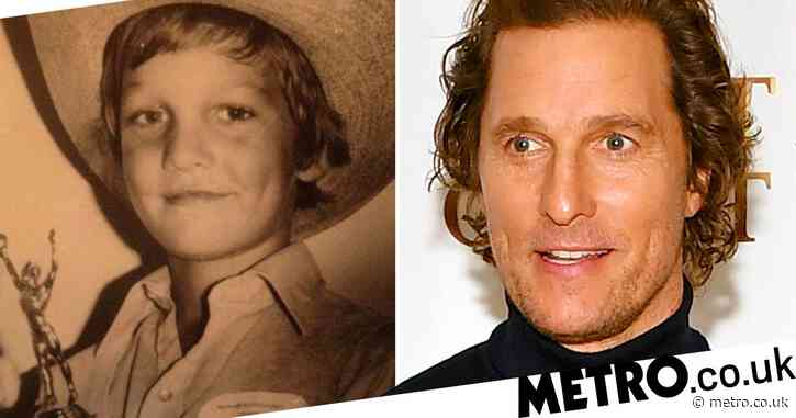 Matthew McConaughey crushed to learn he didn't win Little Mr Texas – 21 years ago