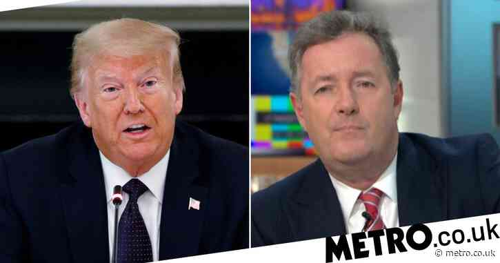 Piers Morgan boasts about phone call with Donald Trump – who predicts he'll win US election