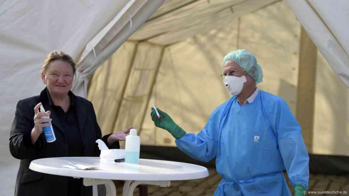 Bürgermeisterin bleibt zuhause - Süddeutsche Zeitung