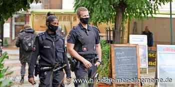 Hält Sarstedt die Maskenpflicht ein? Auf Streife mit der Polizei - www.hildesheimer-allgemeine.de