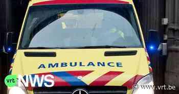 Ziekenwagen van Brusselse brandweer bekogeld in Ganshoren - VRT NWS