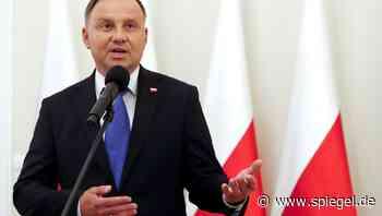 Positiver Test: Polens Präsident Duda mit Corona infiziert - DER SPIEGEL