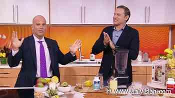 ¿Qué alimentos nos ayudan a relajarnos? Los 'santos remedios' de Dr. Juan para combatir el estrés - Univision