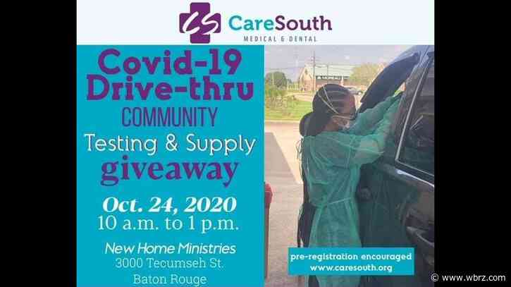 CareSouth, New Home Ministries hosting COVID-19 drive-thru community testing