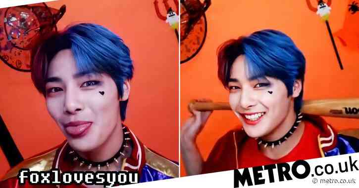 Stray Kids star Jeongin's Harley Quinn Halloween costume hailed 'cultural reset' by thrilled fans