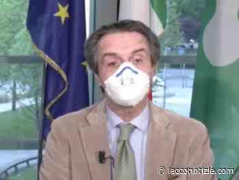 """Covid, Fontana: """"Curva epidemiologica preoccupante, avanti con la didattica a distanza"""" - Lecco Notizie"""