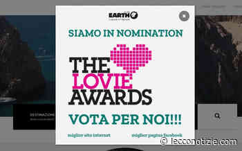Earth Viaggi in corsa per i Lovie Awards con due nomination - Lecco Notizie