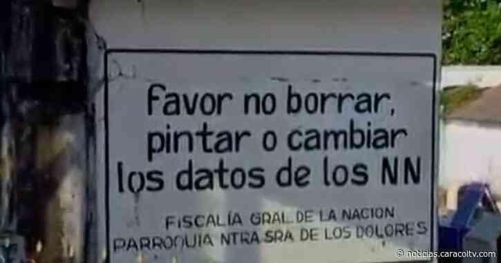 Tradición de adoptar tumbas de N.N. en Puerto Berrío debe ser suspendida - Noticias Caracol