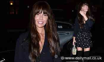 Newly single Jennifer Metcalfe looks chic as she steps out