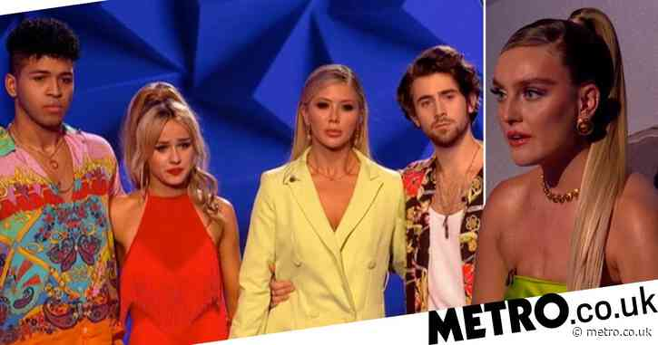 Little Mix The Search: Perrie Edwards in tears as she sends first act home