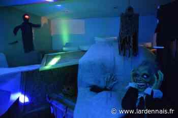 PHOTOS. La « maison de l'horreur » donne toujours des frissons à Aubrives - lardennais.fr