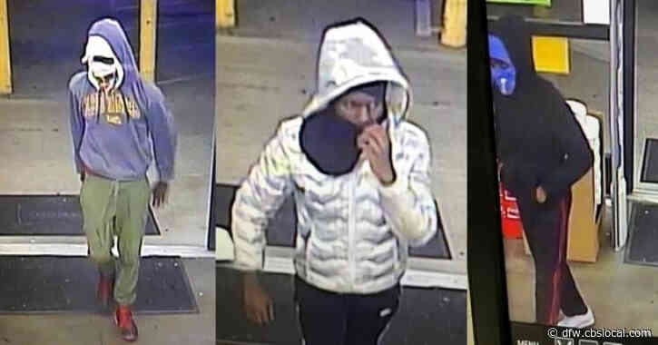 3 Armed Suspects Wanted For Robbery Spree In Mesquite