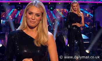 Strictly's Tess Daly dazzles in sequinned jumpsuit  for first live show