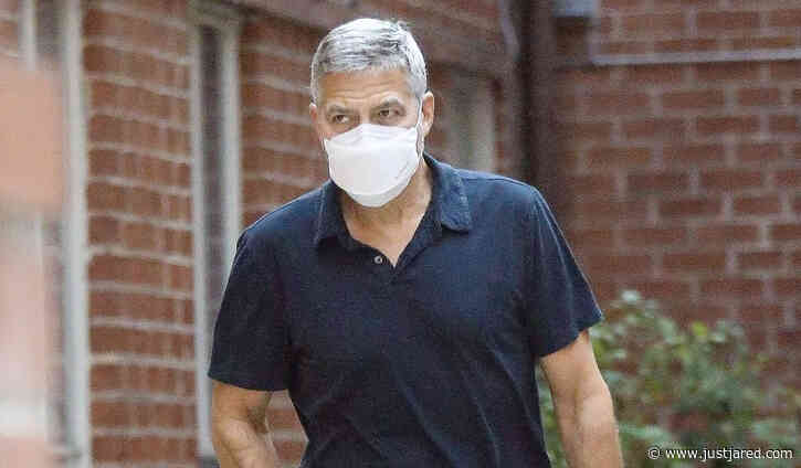 George Clooney Spotted During a Rare Outing in the 90210!