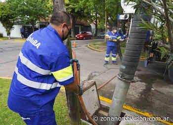Vicente López: limpieza de sumideros en Carapachay - Zona Norte Visión