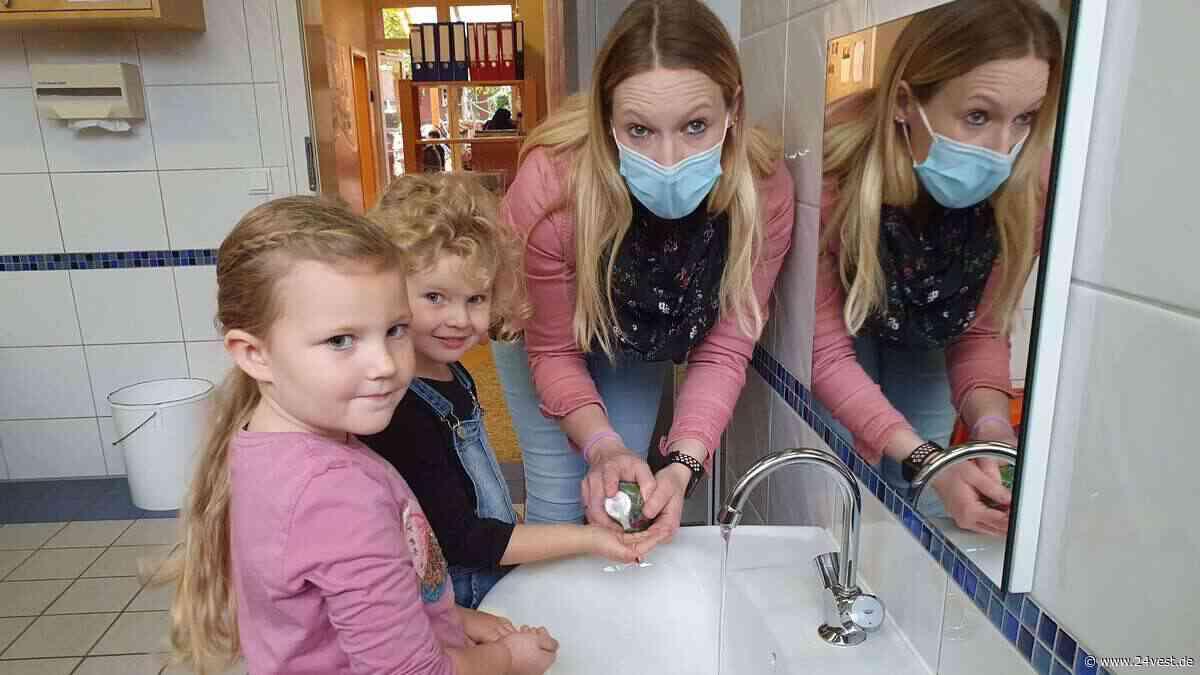 Händewaschen mit der Corona-Alltagshelferin in Oer-Erkenschwick - deswegen gibt es in Kindergärten neue Mit... - 24VEST