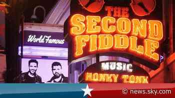 US Election 2020: Nashville's country music pauses for Trump v Biden - Sky News
