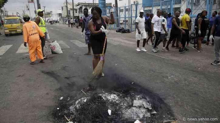 Nigeria's police order massive mobilization to 'dominate the public space' after unrest over SARS