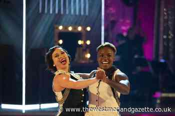 Strictly Come Dancing's first same-sex couple wow the judges