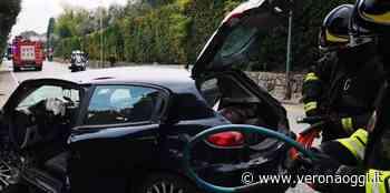 Bardolino: intervento dei Vvf per un incidente stradale - veronaoggi.it
