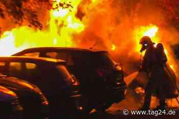 Nach Brandanschlag auf Bürgermeister: VW Golf fackelt in Neuruppin ab! - TAG24
