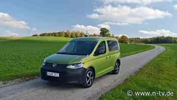 So fährt Generation fünf:VW Caddy - der Golf Plus Plus? - n-tv NACHRICHTEN
