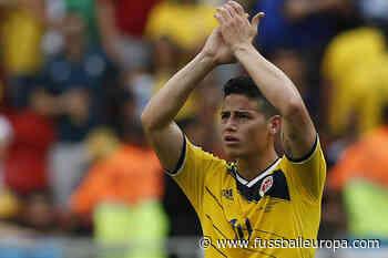 FC Everton in Sorge um James Rodriguez - Fussball Europa