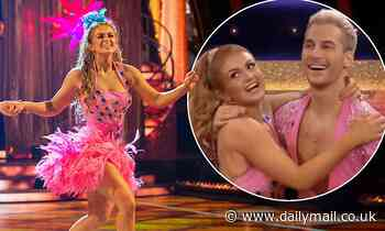 'Who is the professional?': Strictly's Maisie Smith wows fans with her sizzling Samba