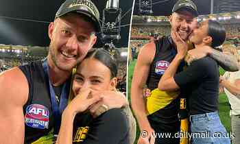 Love Island Australia's Tayla Damir celebrates AFL Grand Final win with boyfriend Nathan Broad