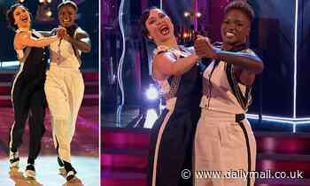 Strictly's Nicola Adams and Katya Jones make history with show's FIRST EVER same-sex performance
