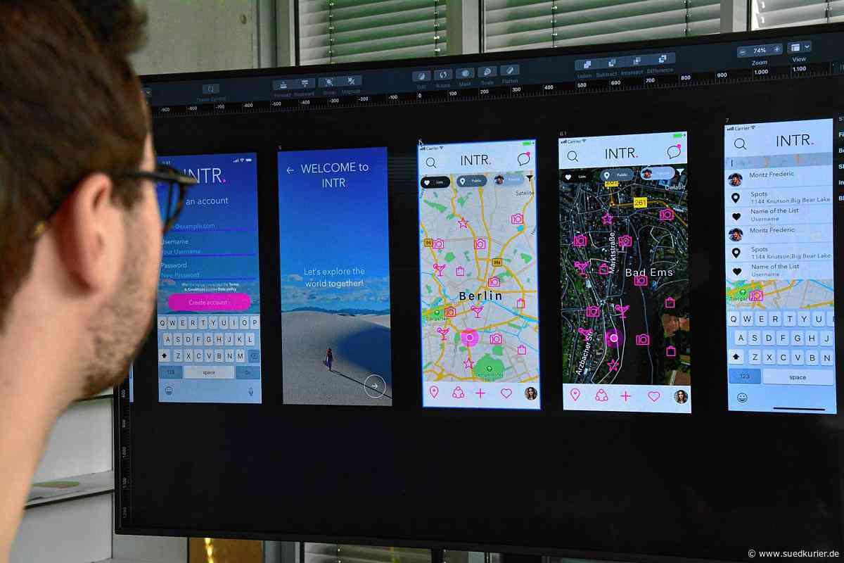 Friedrichshafen: Digitale Innovation vom Bodensee: Eine App soll die Urlaubsplanung erleichtern - SÜDKURIER Online