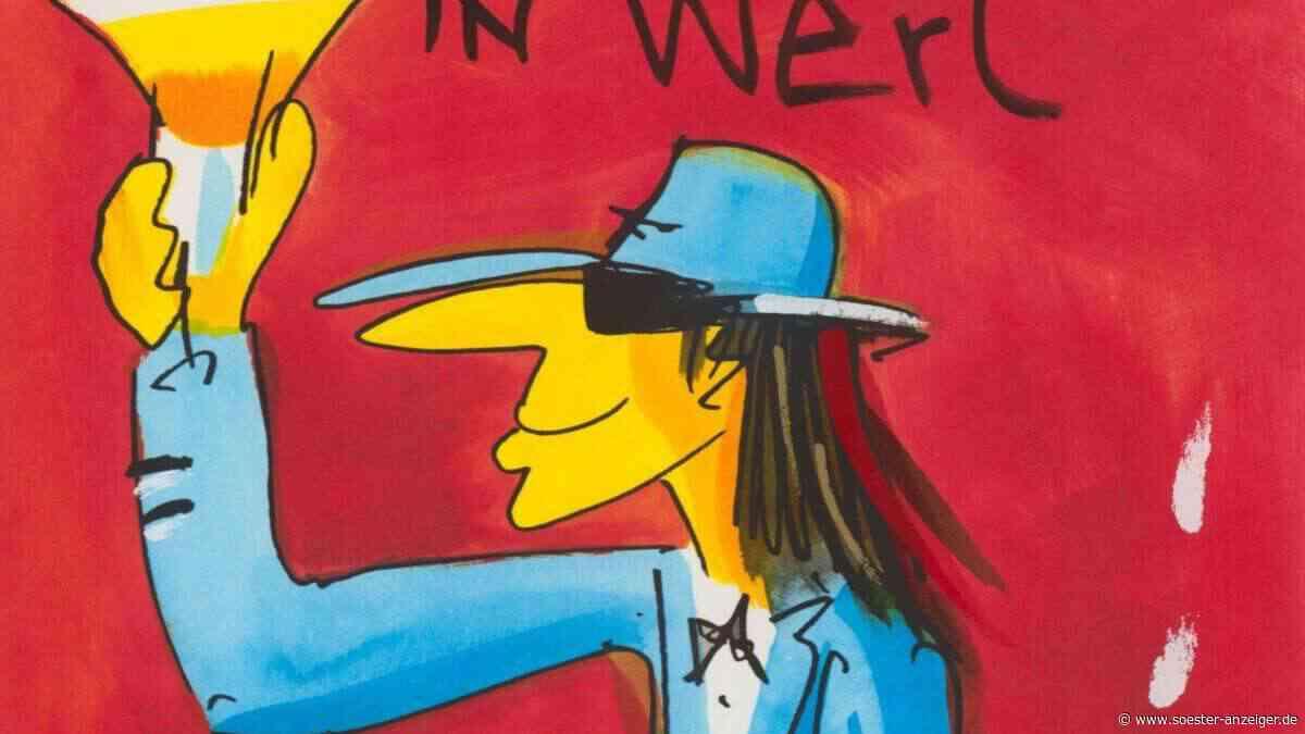 Udo Lindenberg: Bild des Musik-Stars wird in Werl von den Walentowski-Galerien versteigert - soester-anzeiger.de