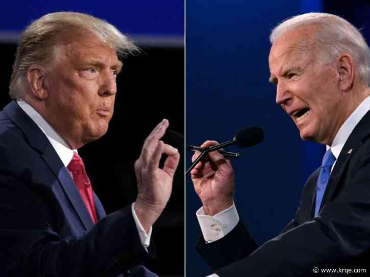Pres. Trump, Biden hold campaign events in battleground states