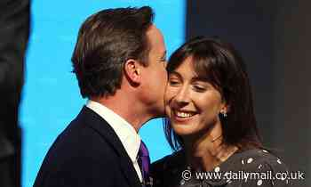 TALK OF THE TOWN: Samantha Cameron reveals her battle to keep her skirt from blowing up
