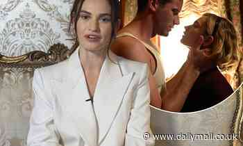 Lily James 'grew close to her co-star Armie Hammer during filming for Rebecca'