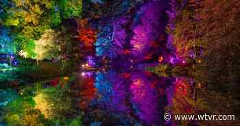 'Interactive' Garden Glow shines at Maymont: 'You can control the light' - wtvr.com
