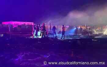 Fuerte incendio en hogar termina en tragedia, mueren menores - El Sudcaliforniano