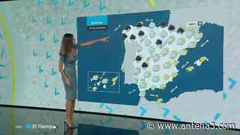 El fin de semana llega con Lluvia fuerte al oeste de Galicia y ascenso térmico casi generalizado - Antena 3