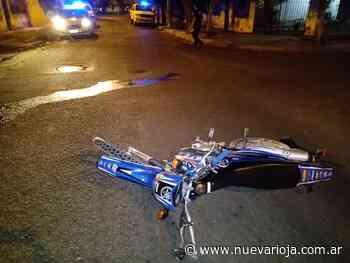 Fuerte accidente en el barrio 3 de Febrero dejó una mujer herida - Nueva Rioja
