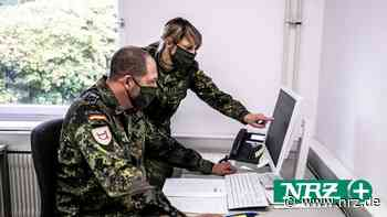 Soldaten aus Kalkar helfen dem Gesundheitsamt Hagen - NRZ