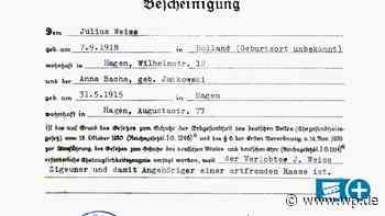 Julius Weiß aus Hagen durfte schwangere Frau nicht heiraten - WP News