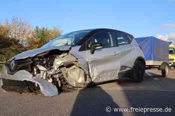 Unfall auf der A4 bei Chemnitz-Ost - Freie Presse